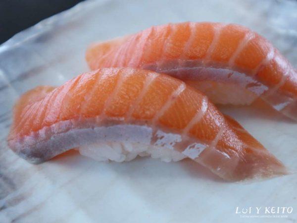 Nigiri sushi (2 piezas) de Salmón